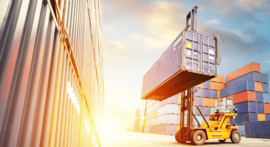 Find Transport Companies for Container Handler Forklifts