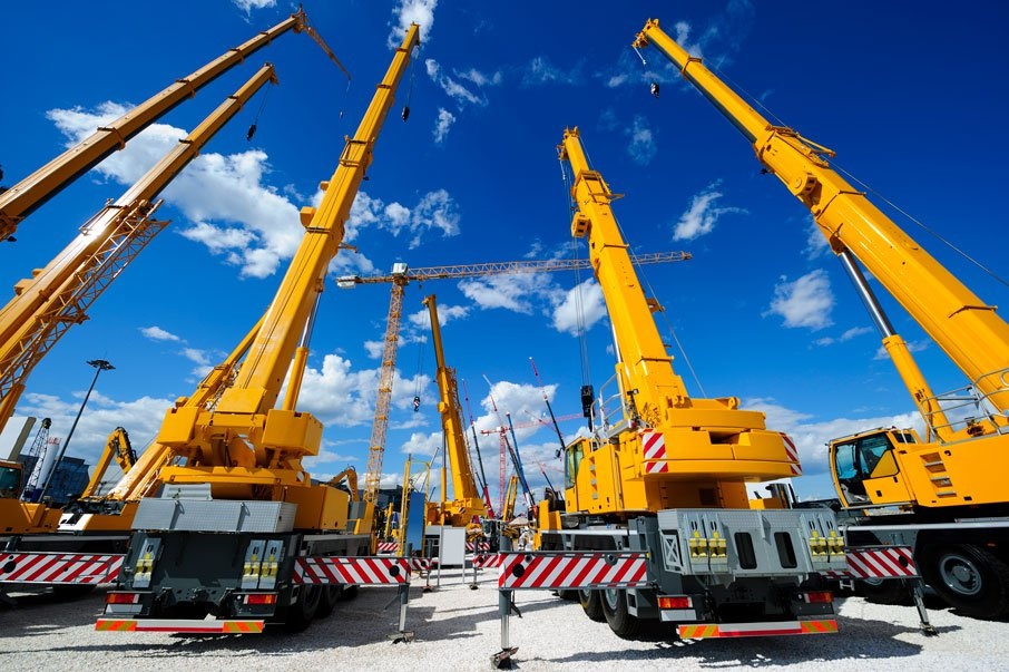 Cranes transport