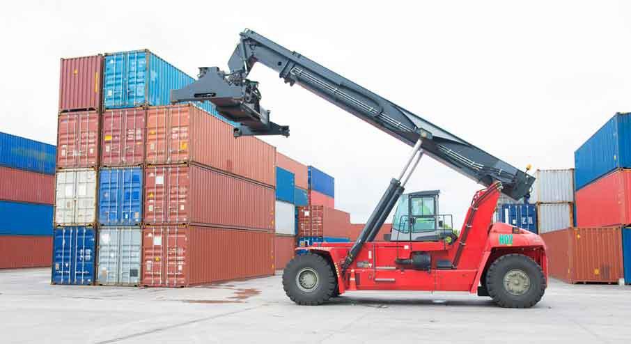 Reach Stacker Forklift